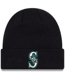 Seattle Mariners Basic Cuffed Knit Hat