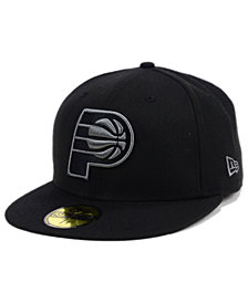 New Era Indiana Pacers Black Graph 59FIFTY Cap