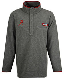Columbia Men's Alabama Crimson Tide Harborside Fleece Pullover