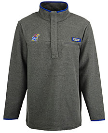 Columbia Men's Kansas Jayhawks Harborside Fleece Pullover