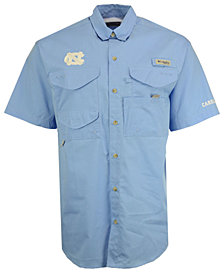Columbia Men's North Carolina Tar Heels Bonehead Short Sleeve Shirt
