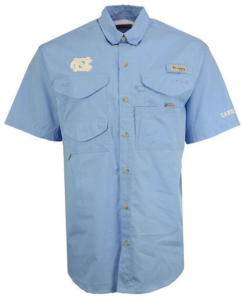 Columbia Men's North Carolina Tar Heels Bonehead Short Sleeve Shirt