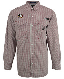 Columbia Men's Florida State Seminoles Super Bonehead Long Sleeve Shirt