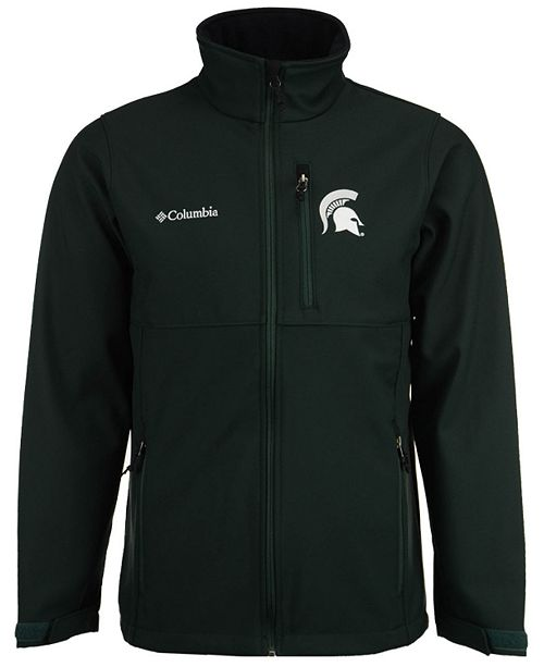 f2695be31e00d Men's Michigan State Spartans Ascender Softshell Jacket