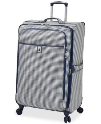 "Image of London Fog Oxford Hyperlite 29"" Expandable Spinner Suitcase, Only at Macy's"