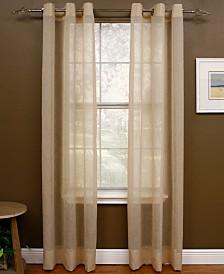 "Miller Curtains Sheer Preston Grommet 48"" x 84"" Panel"