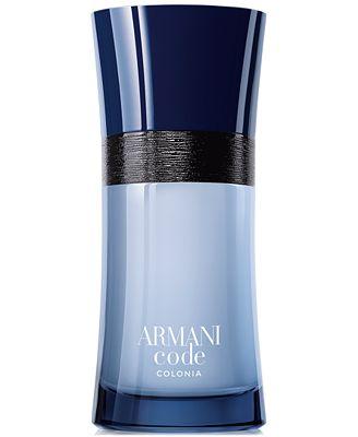 Giorgio Armani Armani Code Colonia Spray, 1.7 oz, Only at !