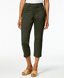 Style & Co Utility Capri Pants, Created for Macy's