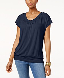 Blouson T-Shirt, Created for Macy's