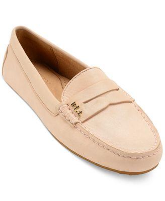 Best Supplier Womens Casual Shoes - Lauren Ralph Lauren Belen Artists Creme Super Soft Leather