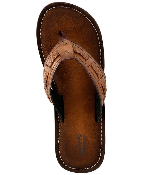 56b4c71e8f8 Clarks Collection Women s Fenner Nerice Flip-Flops   Reviews ...