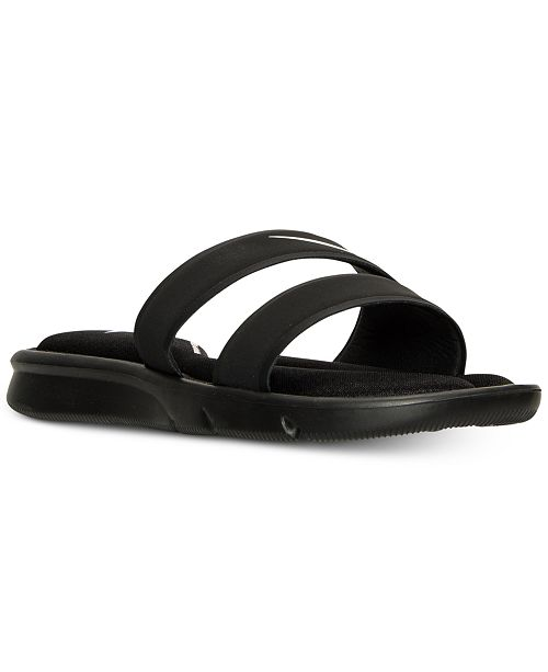 69753d0f9a27 Nike Women s Ultra Comfort Slide Sandals from Finish Line   Reviews ...