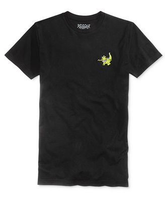 Bioworld Men 39 S Rugrats Reptar Embroidered T Shirt T