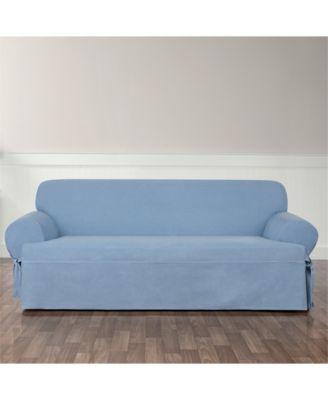 Authentic Denim One Piece Sofa Slipcover