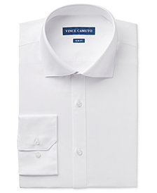 Vince Camuto Men's Slim-Fit Comfort Stretch Solid Dress Shirt