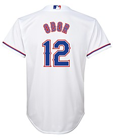 Rougned Odor Texas Rangers Player Replica CB Jersey, Big Boys (8-20)
