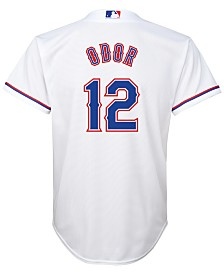 Majestic  Rougned Odor Texas Rangers Player Replica CB Jersey, Big Boys (8-20)