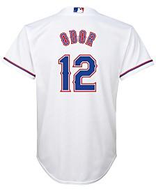 Majestic  Rougned Odor Texas Rangers Player Replica CB Jersey, Big Boys (8-20)