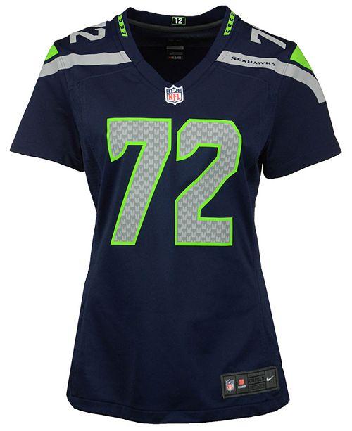 huge discount aae60 05017 Nike Women's Michael Bennett Seattle Seahawks Game Jersey ...