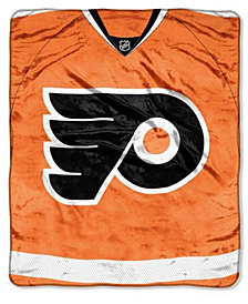 Northwest Company Philadelphia Flyers 50x60in Plush Throw Jersey