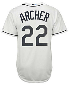 Majestic  Chris Archer Tampa Bay Rays Player Replica CB Jersey, Big Boys
