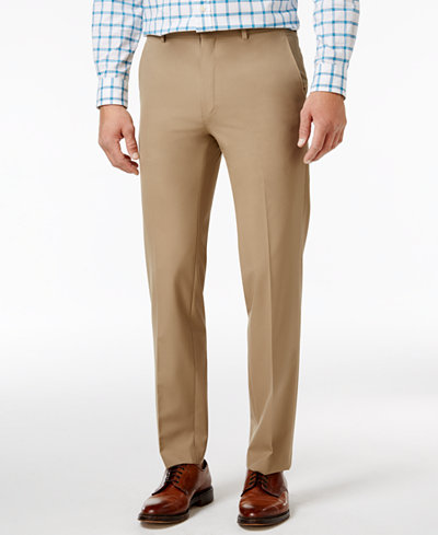 Lauren Ralph Lauren Men's Slim-Fit Total Stretch Dress Pants ...