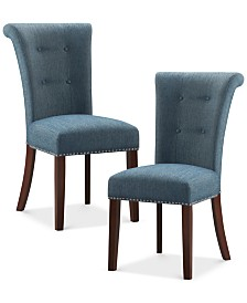 Riker Set of 2 Dining Chairs, Quick Ship