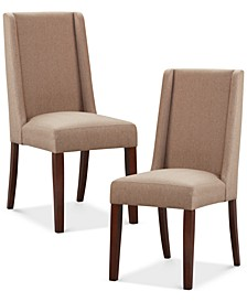 Benicio Set of 2 Dining Chairs, Quick Ship