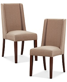 Valmay Set Of 2 Dining Chairs Quick Ship