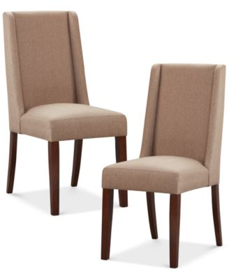 Valmay Set Of 2 Dining Chairs, Quick Ship