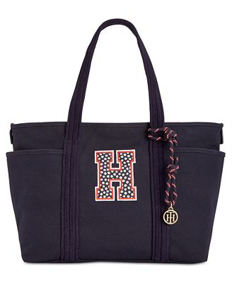 Tommy Hilfiger Extra-Large Dariana Collegiate H Tote