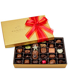 Godiva 36-Pc Gold Gift Box