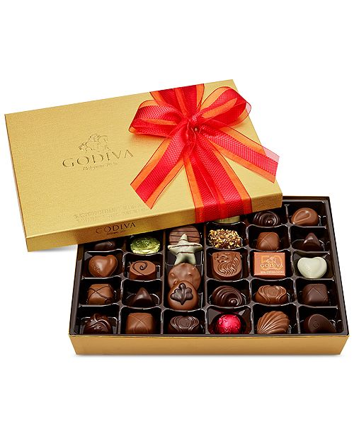Godiva 36-Pc Gold Gift Box