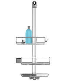 simplehuman Adjustable Shower Caddy Plus