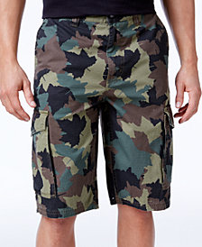 LRG Men's B&T Cotton Cargo Shorts
