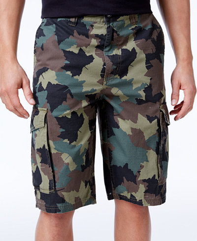 LRG Men's Rip Stop Cargo Shorts - Shorts - Men - Macy's