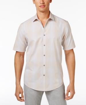 Alfani Ombre Plaid Shirt...