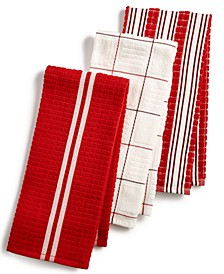 3-Pc. Terry Cloth Kitchen Towels, Created for Macy's