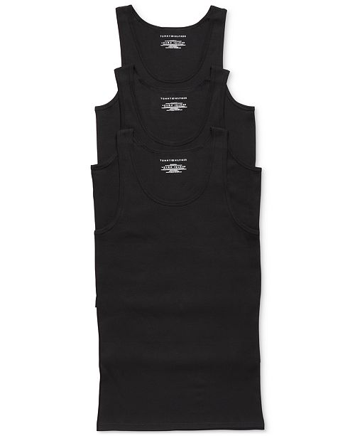 1acd4521c7bf9 Tommy Hilfiger Men s Classic Tank 3-Pack - 09TTK01   Reviews ...