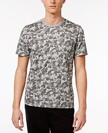 Bar III Men's Camo-Print Cotton T-Shirt, Created for Macy's