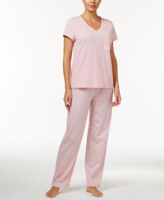 T-shirt and pajama pants