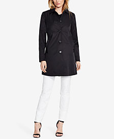 Lauren Ralph Lauren Petite Single-Breasted A-Line Trench Coat