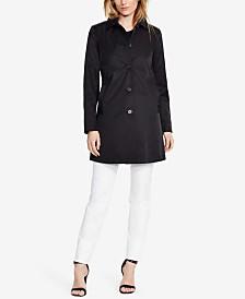 Lauren Ralph Lauren Petite Single-Breasted A-Line Trench Coat