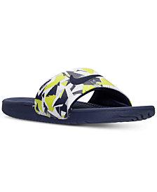 Nike Men's Kawa Print Slide Sandals from Finish Line