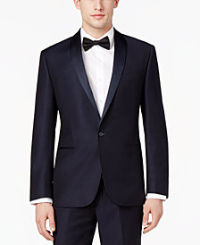 Ryan Seacrest Distinction™ Men's  Navy Modern-Fit Tuxedo Jacket, Created for Macy's