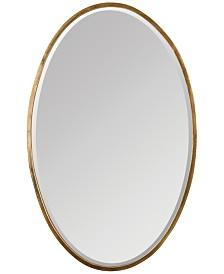 Uttermost Herleva Gold Oval Mirror