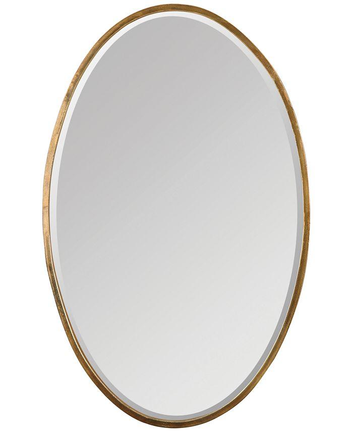 Uttermost - Herleva Gold Oval Mirror