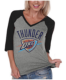 Gameday Couture Women's Oklahoma City Thunder Bling Rhinestone Raglan T-Shirt
