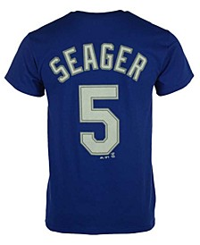 Corey Seager Los Angeles Dodgers Official Player T-Shirt, Big Boys (8-20)