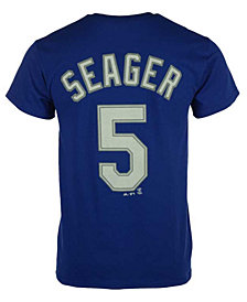 Majestic Corey Seager Los Angeles Dodgers Official Player T-Shirt, Big Boys (8-20)